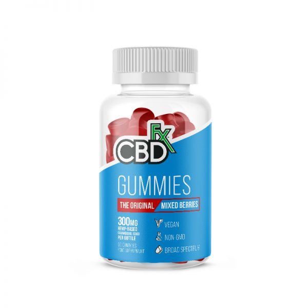 CBDFX-Original-Hemp-Mixed-Berry-Gummies-60ct-Bottle-300mg