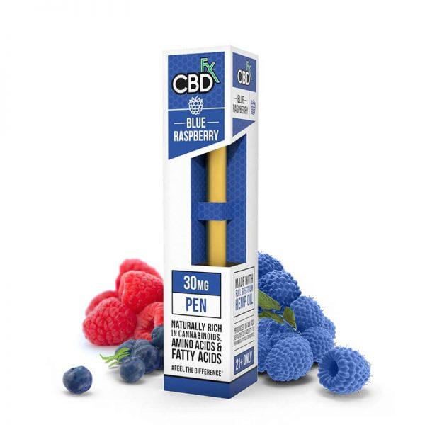 CBDfx-Vape-Pen-Blue-Raspberry-30mg