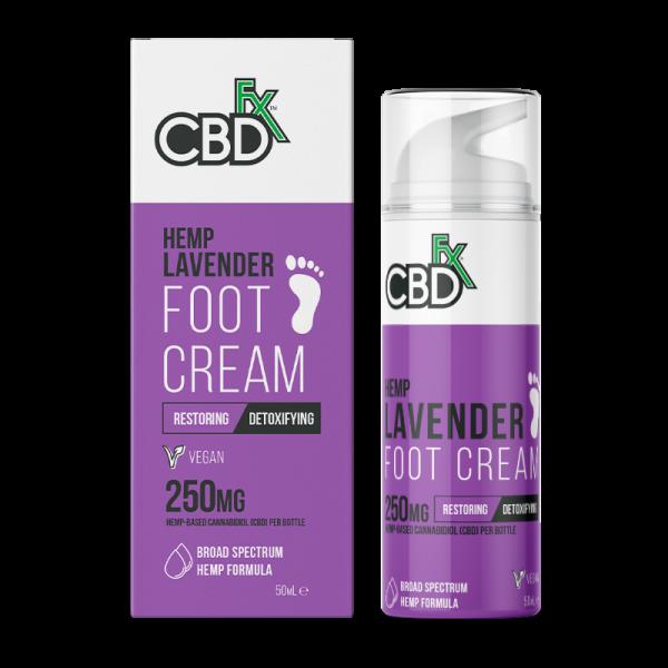 CBDFX-Footcream-Lavender-250MG-50ML